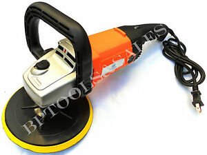 7 Auto Car Paint Polisher buffer Waxer Sander Ul 10amp New W Backing Pad
