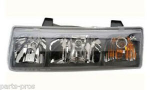 New Replacement Headlight Assembly Lh For 2005 Saturn Vue