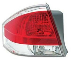 New Replacement Chrome trim Taillight Assembly Lh For 2008 11 Ford Focus