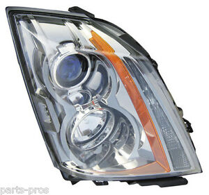 New Replacement Halogen Headlight Assembly Rh For 2008 2011 Cadillac Cts