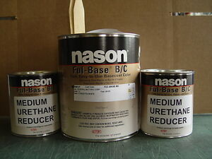 Auto Body Shop Paint Dupont Nason Corvette White Basecoat Clearcoat Car Paint