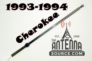 Jeep Grand Cherokee Power Antenna Mast 1993 1994 New Stainless Steel