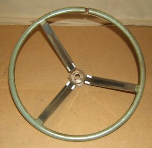 Ford Steering Wheel 63 Thunderbird Oem Genuine T63 Sw Vintage Metal