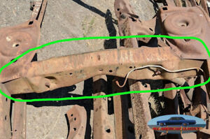 1964 65 66 67 Chevelle Skylark 442 Gto Frame Crossmember At Rear Axle A body