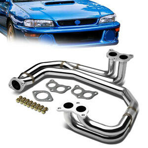 For 98 05 Subaru Impreza Wrx 2 5rs 2 5l Rs Non Turbo Stainless Exhaust Header