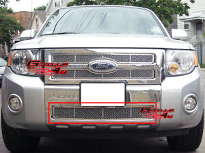 Fits 08 11 2011 Ford Escape Lower Bumper Stainless Mesh Grille