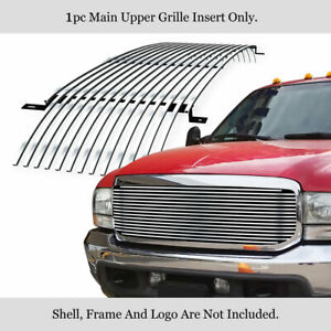 Fits 99 04 00 Ford F250 F350 Superduty Billet Grille Grill