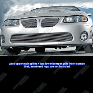 Fits 2004 2006 Pontiac Gto Billet Grille Grill Combo Insert