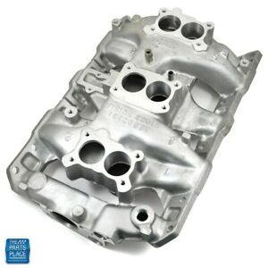1966 Pontiac Gto Tri Power Aluminum Intake Manifold Lightweight Version Of Oe