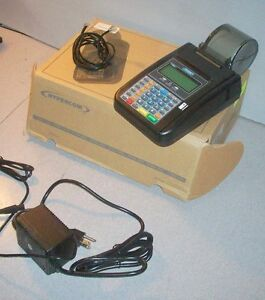 Hypercom T7 Plus Credit Card Terminal Very Nice Setup