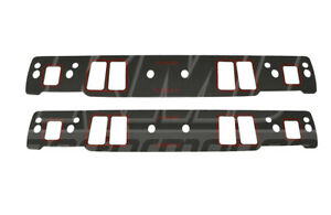 Sbc Small Block Chevy 060 Thick Vortec Intake Manifold Gaskets 305 350 5 0 5 7