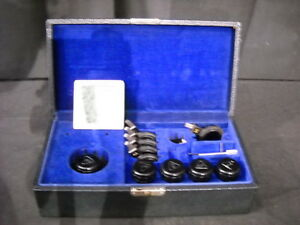 Lot Of 5 Bausch Lomb Microscope Objectives Filters 2 43x 1 21x 2 97x