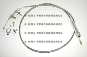 Chevy Gm Turbo 350 Transmission Stainless Kickdown Cable Assembly Th350