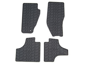 11 12 Jeep Liberty New Slush Floor Mats Dark Slate Gray Mopar Factory Oem