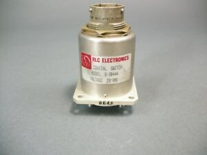 Rlc Electronics Coaxial Switch S 3044a 28 Vdc