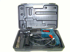 Moller H D 3 4 Electric Rotary Hammer Drill Kit Bits Sds Plus Concrete Steel