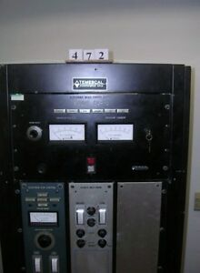 Temescal Electron Beam Power Supply Model Cv 10 Used Working 472