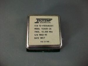 Isotemp Crystal Oscillator 52 p30348c001 Tcso35 26 new Old Stock