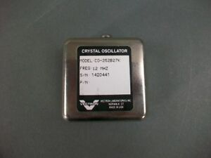 Vectron Crystal Oscillator Co 252b27k 12 Mhz new Old Stock