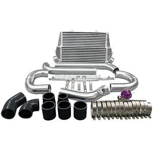 Cx Double Core Intercooler 2 5 Pipes Bov Kit For 07 09 Mazdaspeed3 1st Gen