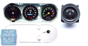 1965 Gto Oem Factory Rally Gauge Setup Factory Show Quality Metal Housing