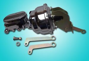 Mopar A B E Body Cuda Charger Chrome Power Brake Booster And Master Cylinder 8
