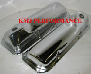 69 82 Ford 351c 351m 400m Chrome Valve Covers Sbf Cleveland Modified Boss 302