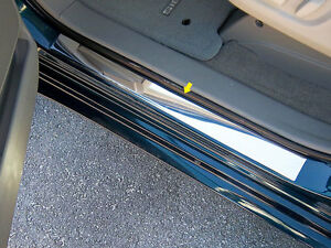 2011 2012 Toyota Sienna 2pc Stainless Steel Door Sill Plate Trim