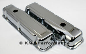 68 81 Buick 350 Chrome Valve Covers Stock Height V8