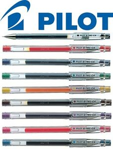 Pilot G tec C4 Microtip 0 4mm Rollerball Pen All Colours Singles Or Packs Of 12