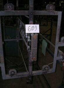 Thermal Firing Carriage For A Stokes 48 Vacuum Evaporator 609