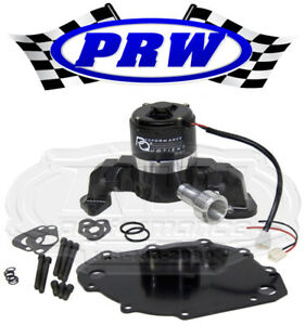 Prw 4446017 Big Block Ford 400 460 High Flow Electric Racing Water Pump Black