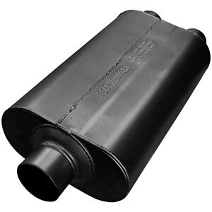 Flowmaster 530552 Super 50 Series Series Muffler 3 Center Inlet 2 5 Dual Out