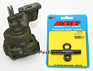 Melling M55 Sbc Chevy Oil Pump Std Volume Arp 230 7001 Hp Oil Pump Stud 327 350