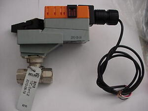Belimo Lrb24 3 Actuator With 1 2 Valve B210 Lrb24 3 Ships On The Same Day
