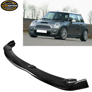 Fits 02 06 Mini Cooper S Urethane H Style Front Bumper Lip Spoiler Bodykit