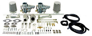 Empi Vw Beetle Dual Epc 34 Carb Kit Single Port 47 7401