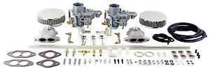 Vw Type 3 Dual Epc 34 Carb Kit Dual Port W Air Cleaner 47 7311