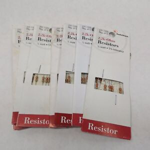 Radio Shack 271 1325 2 2k ohm Resistor 1 4 Watt 5 Tolerance 5 Pack X 7 35