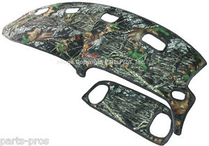 New Mossy Oak Camouflage Camo Dash Board Mat Cover For 98 01 Dodge Ram Truck