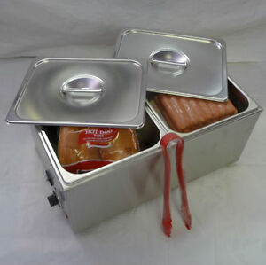 Commercial Hot Dog Steamer Bun Warmer Etl Listed