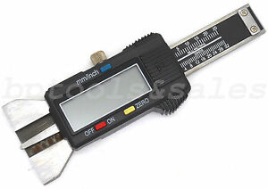 1 Electronic Digital Vernier Depth Gauge Caliper Lcd Display Inch Metric Tool