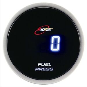 52mm Autogauge Digital Gauge Fuel Pressure Meter Blue Smoked Led Psi bar
