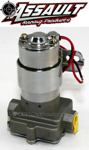 High Flow Performance Electric Fuel Pump 115gph Universal Fit 3 8 Npt Ports