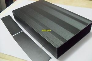 Diy Metal Aluminum Project Enclosure Box Electronic Case Black_big 300x178x50mm