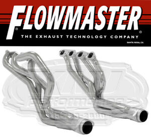 Flowmaster 814112 Ceramic Coat Long Tube Headers 2 67 69 Camaro 68 74 Nova Bbc