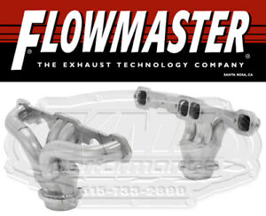 Flowmaster 814120 Ceramic Coat Hugger Shorty Headers 57 74 Corvette 327 350 Sbc