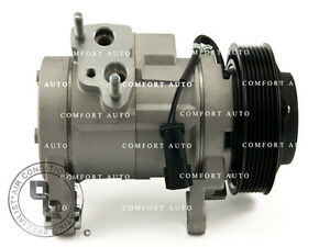 New Ac A c Compressor With Clutch Air Conditioning Pump 1 Year Warranty