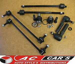 Inner Outer Tie Rod Lower Upper Ball Joint Stabilizer Sway Bar Links