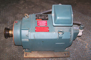 Reliance 5 Hp Ac Motor L2158c 230 460 V 1780 3560 Rpm 3 Phase Electric Motor
